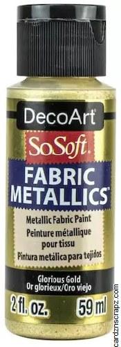DecoArt SoSoft 59ml Metallic Glorious Gold