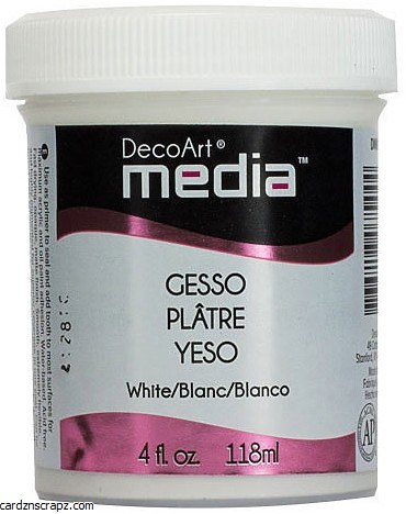Gesso DecoArt 118ml White