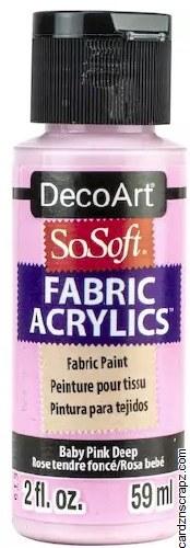 DecoArt SoSoft 59ml Pink Baby