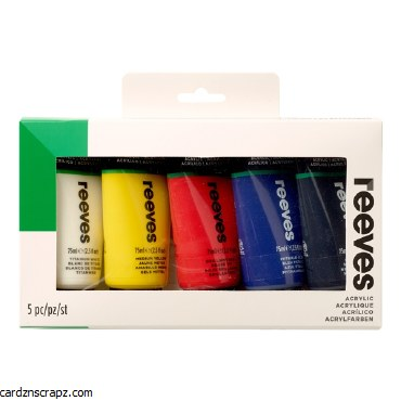 Reeves Acrylic 75ml 5pk