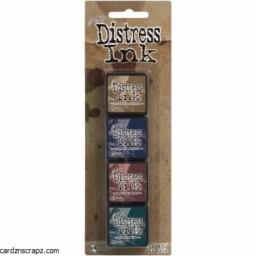 Distress Mini Ink Kits Kit 12