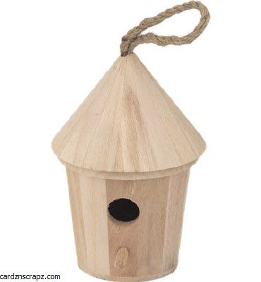 "Bird House Round 7"" High"