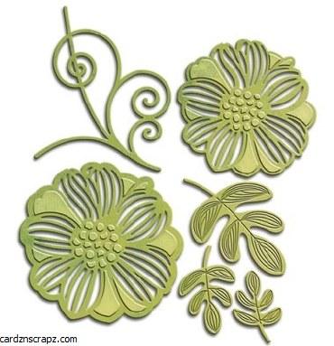 Shapeabilities Romantic Blooms