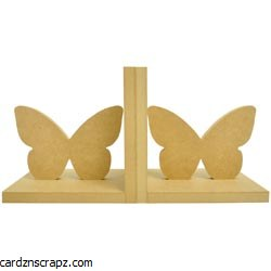 Kaisercraft Beyond The Page MDF Butterfly Bookends 5.5X5.5X5
