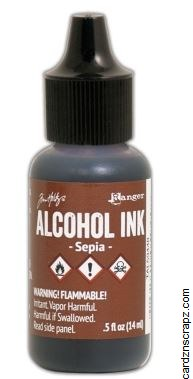Alcohol Ink 14ml Sepia