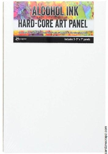 "Alcohol Ink Hard-Core Art Panel 5x7"" 3pk"