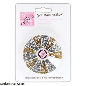 Gemstone Wheel Gold & Silver