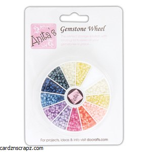 Gemstone Wheel Pearl