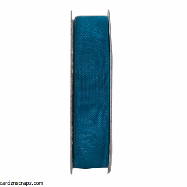 Ribbon 3m Organza Turquoise
