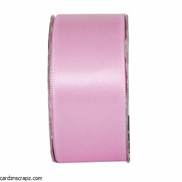 Ribbon 3m x 27mm Satin Soft Pink