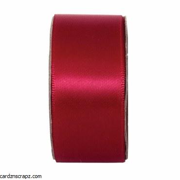 Ribbon 3m x 27mm Satin Cabernet