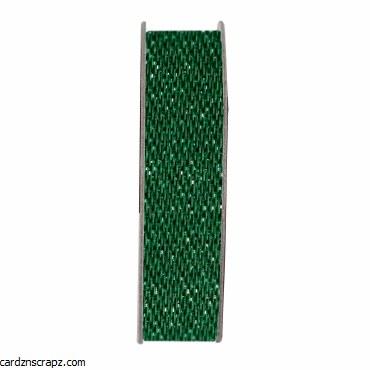 Ribbon 3M Glitter Satin Evergreen