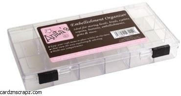 "Embellishment Case 8x4"""