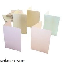Card & Envelope 50 Pack A6 Pastel Pearl
