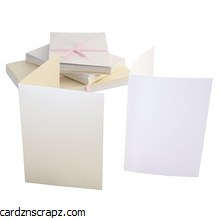 Card & Envelope 50 Pack A6 Timeless Pearl