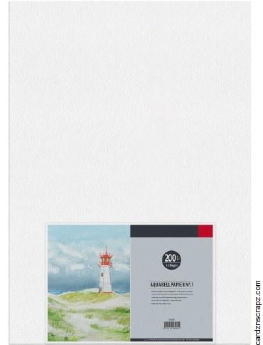 Watercolour Paper A2 10pk 200g