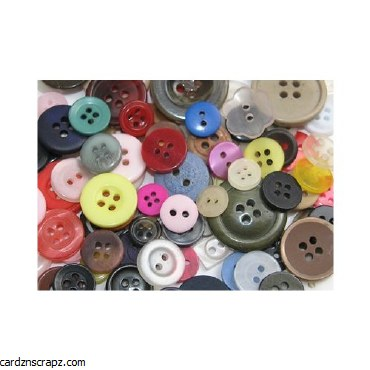 Buttons Assorted 500gm