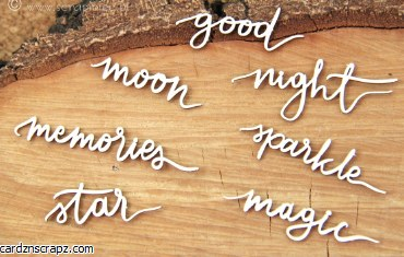 Chipboard Magic Fall Words