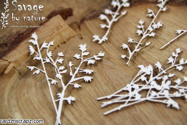 Chipboard Small Branches