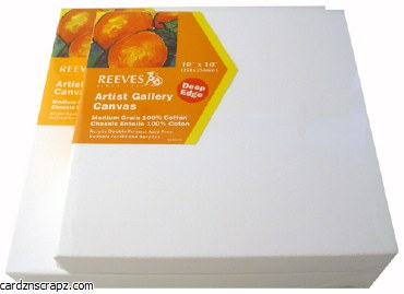 "Canvas 3D Reeves 12x12""x4cm"