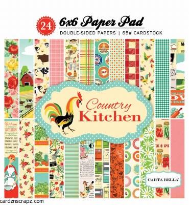 Paper Pk 6x6 CB Country Kitchen