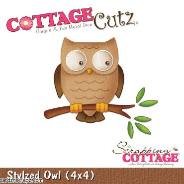 "Cottagecutz Baby Owl 4x4"""