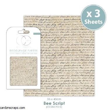 Decoupage Bee Script