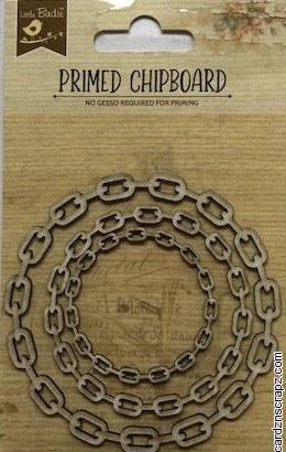 Chipboard LB Chain Circle