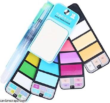 Watercolour Set 18pk Pastel