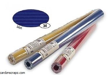 Corrugated Roll 50x70cm Blue