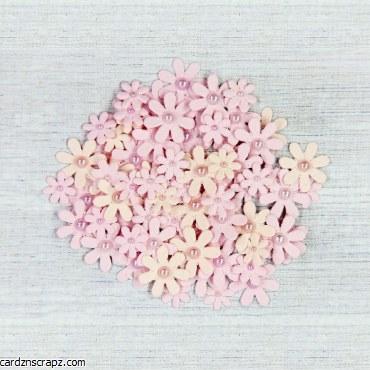 LittleBirdie Pearl Florettes - Blush, 80pcs