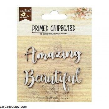 Chipboard LB Amazing Beautiful