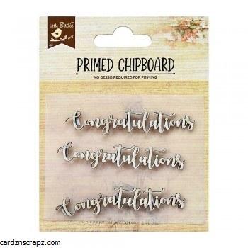 Chipboard LB Congratulations
