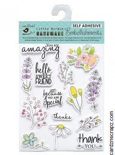 Stickers LB Daisies 14pk
