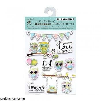 Stickers LB Owls 10pk