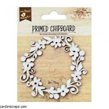 Chipboard LB Frame Blossom