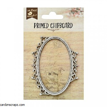 Chipboard LB Frame Oval