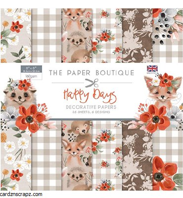 Creative Expressions Happy Days Paper Pad