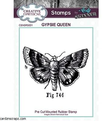 Clear Stamp Creative Expressions Gypsie Queen