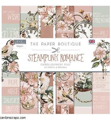 "Paper Pk 8x8"" Creative Expressions Steampunk Romance"