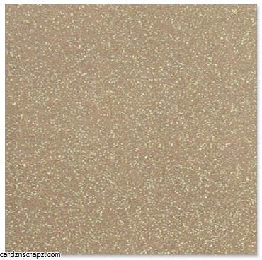 A4 Card Glitter Gold 10pk