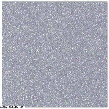A4 Card Glitter Silver 10pk