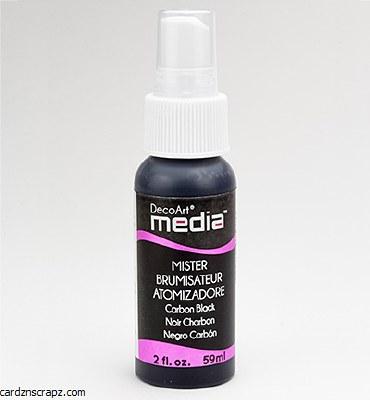 DecoArt Spray 59ml Black