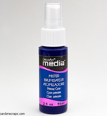 DecoArt Spray 59ml Cyan