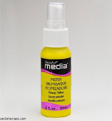 DecoArt Spray 59ml Yellow
