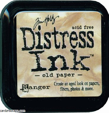 Ranger Tim Holtz Old Paper Distress Ink Pad