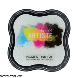Pigment Ink Pads Clear Emboss