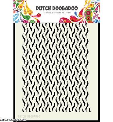 Stencil A5 DDBA Waves