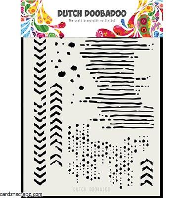Stencil A5 DDBA Art Grunge