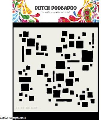 Mask Dutch Doobadoo Mask Art Squares